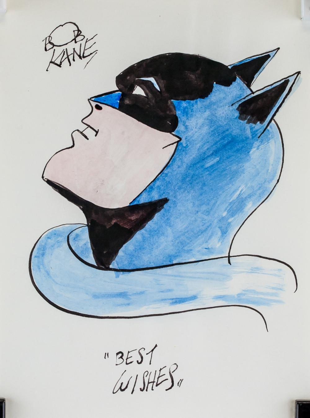 Lot 123: Bob Kane American Pop Mixed Media Batman