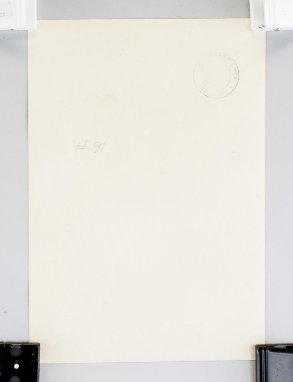 Lot 158: American Modernist School Tempera Signed