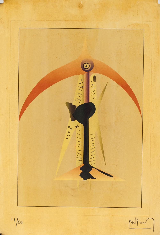 Wifredo Lam Cuban Surrealist Signed Litho 18/20