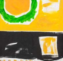 Lot 186: Patrick Heron British Abstract Oil on Canvas