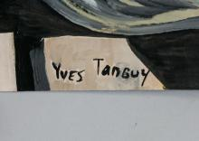 Lot 187: Yves Tanguy French Surrealist Gouache on Paper
