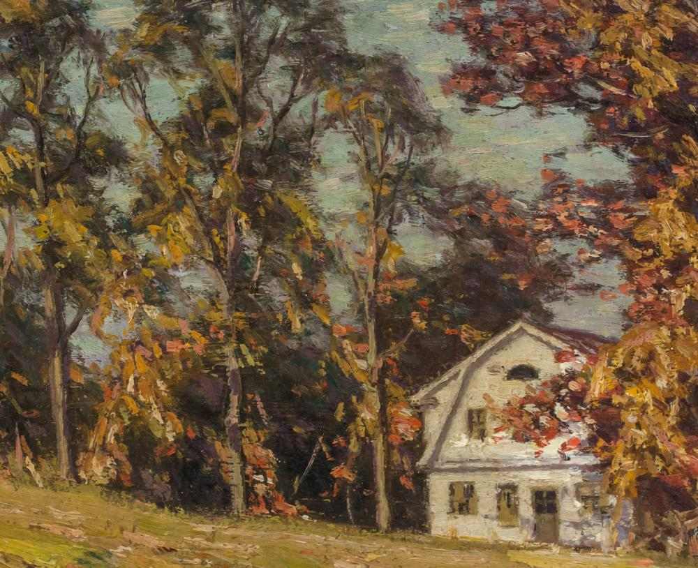 Lot 193: George Thomson Canadian Oil on Board Landscape