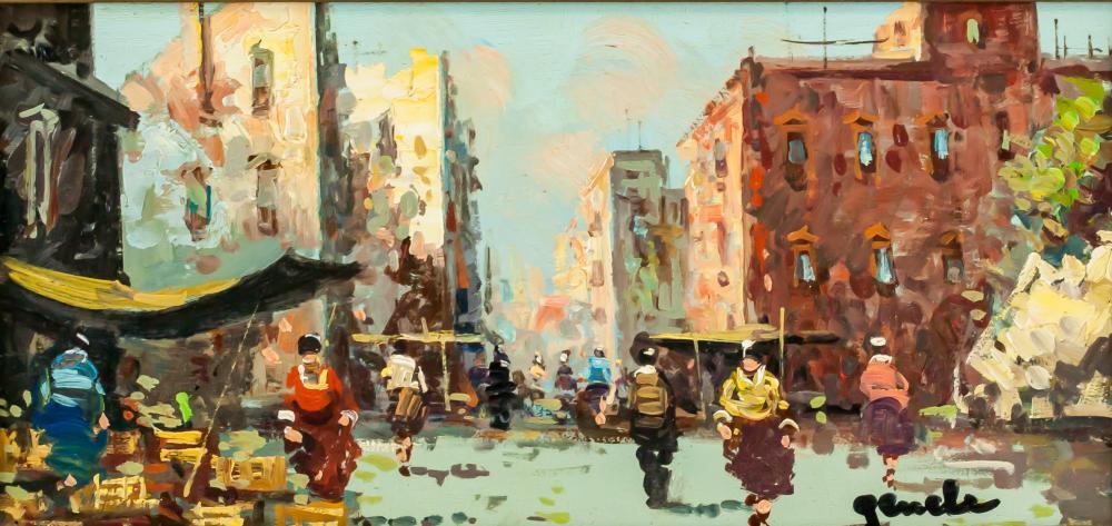 Oil on Panel Artist Signed Landscape