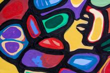 Lot 198: Norval Morrisseau 1932-2007 Canadian Acrylic 1981