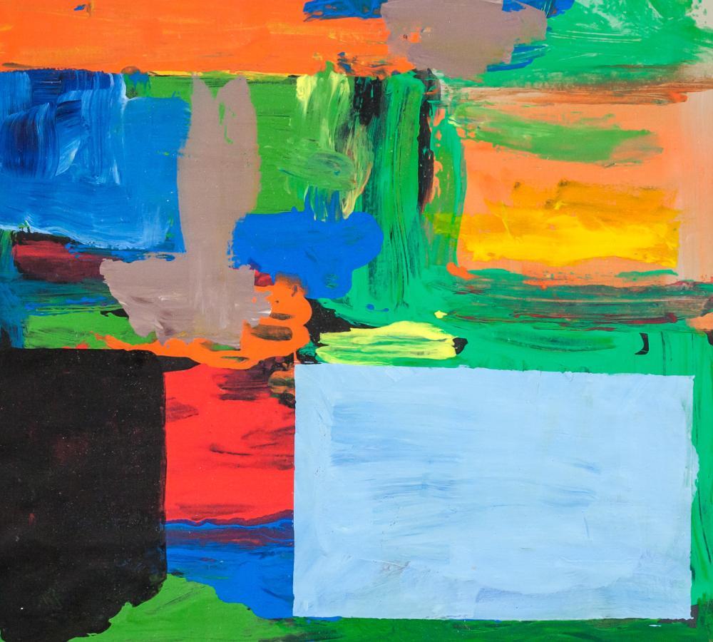 Lot 207: Hans Hofmann American Abstract Oil on Canvas