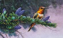 Lot 218: Stephen Lyman US Wildflower Suite Set of 4 Prints