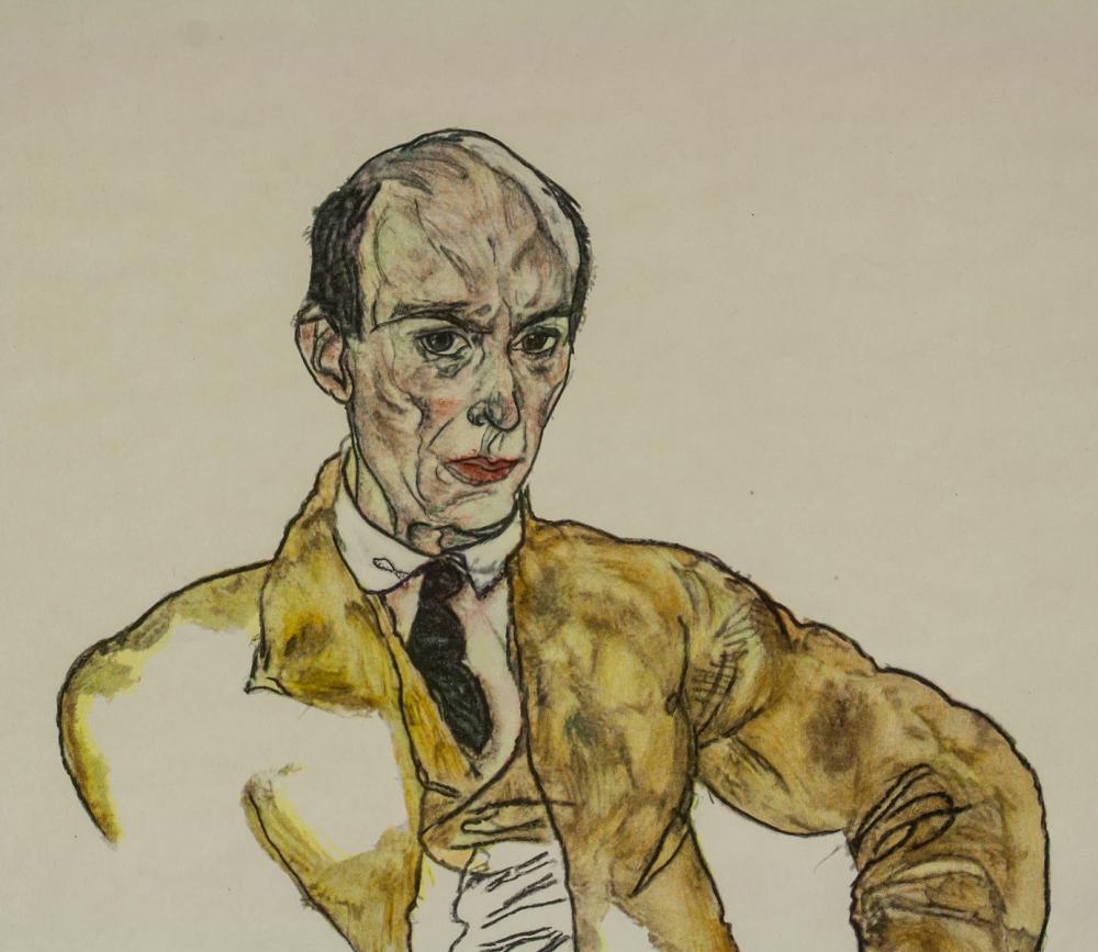 Lot 221: Egon Schiele Austrian Expressionist Signed Litho