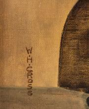 Lot 236: WH Cross Oil on Canvas Board