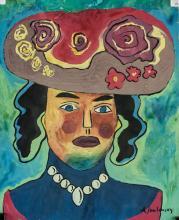 Lot 244: Alexej von Jawlensky German Expressionist Mixed