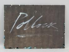 Lot 247: Jackson Pollock American Abstract Oil on Paper
