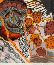 Lot 248: Anita Chakraborty Mixed Media Paper January 1988