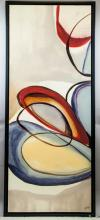 Lot 255: Contemporary Oil on Canvas Abstract Artist Signed