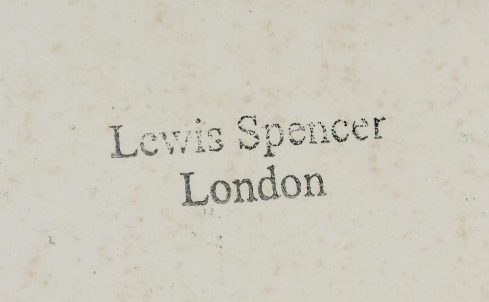 Lot 258: British Expressionist Oil Tempera Signed Illegibly