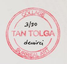 Lot 261: Tan Tolga Demirci b.1974 Turkish Digital Collage