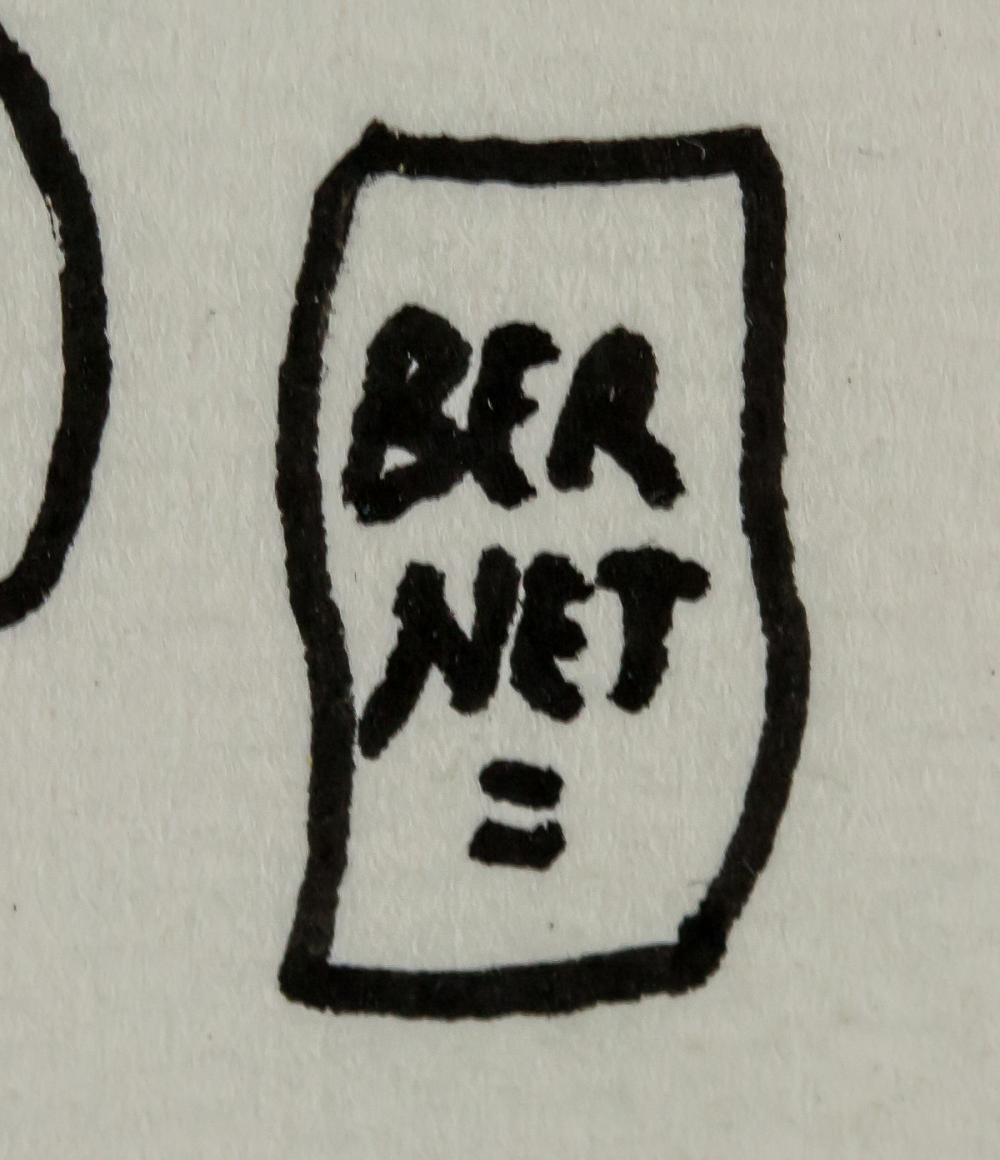 Lot 271: Jordi Bernet Spanish Pop Signed Ink on Paper