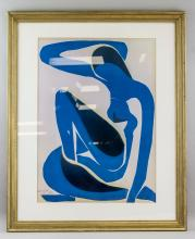 Lot 275: Henri Matisse French Fauvist Signed Litho Paper 52