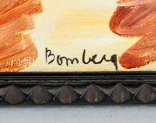 Lot 277: David Bomberg British Abstract Oil on Canvas