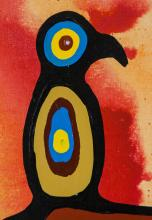Lot 279: Christian Morrisseau born 1969 Canadian Acrylic