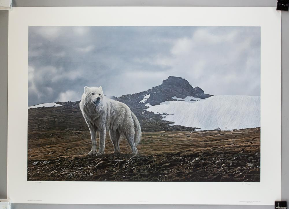 Lot 288: Terry A. Issac 1958-2019 US Signed Litho 628/950