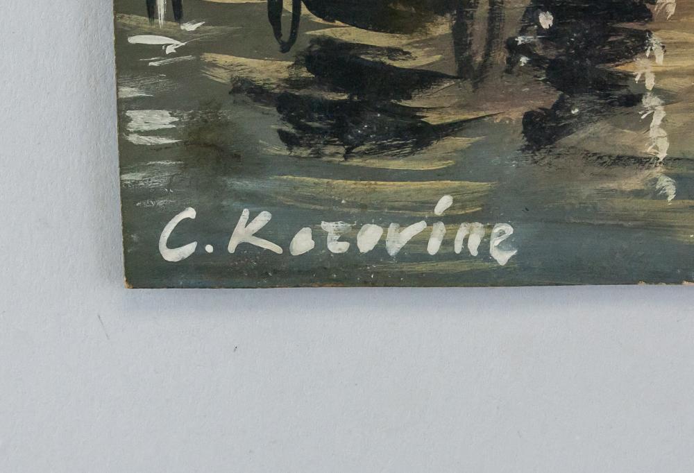 Lot 290: Konstantin Alekseyevich Korovin Gouache Paper