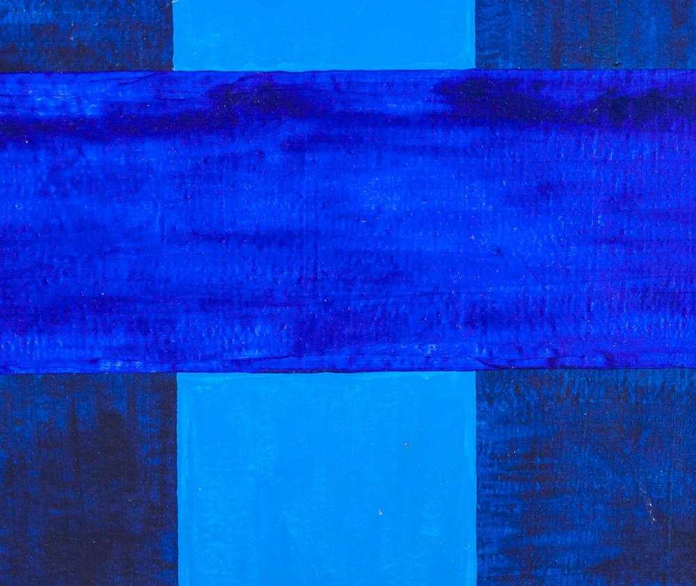 Lot 293: Ad Reinhardt American Abstract Oil on Canvas