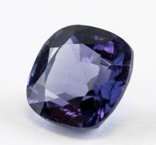 Lot 363: 6.05 Ct Cusion Cut Purple Sapphire Gemstone AGSL