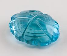 Lot 369: 21.25 ct Blue Topaz with GGL Certificate