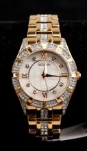 Lot 374: Bulova Ladies' Crystal Dial Watch