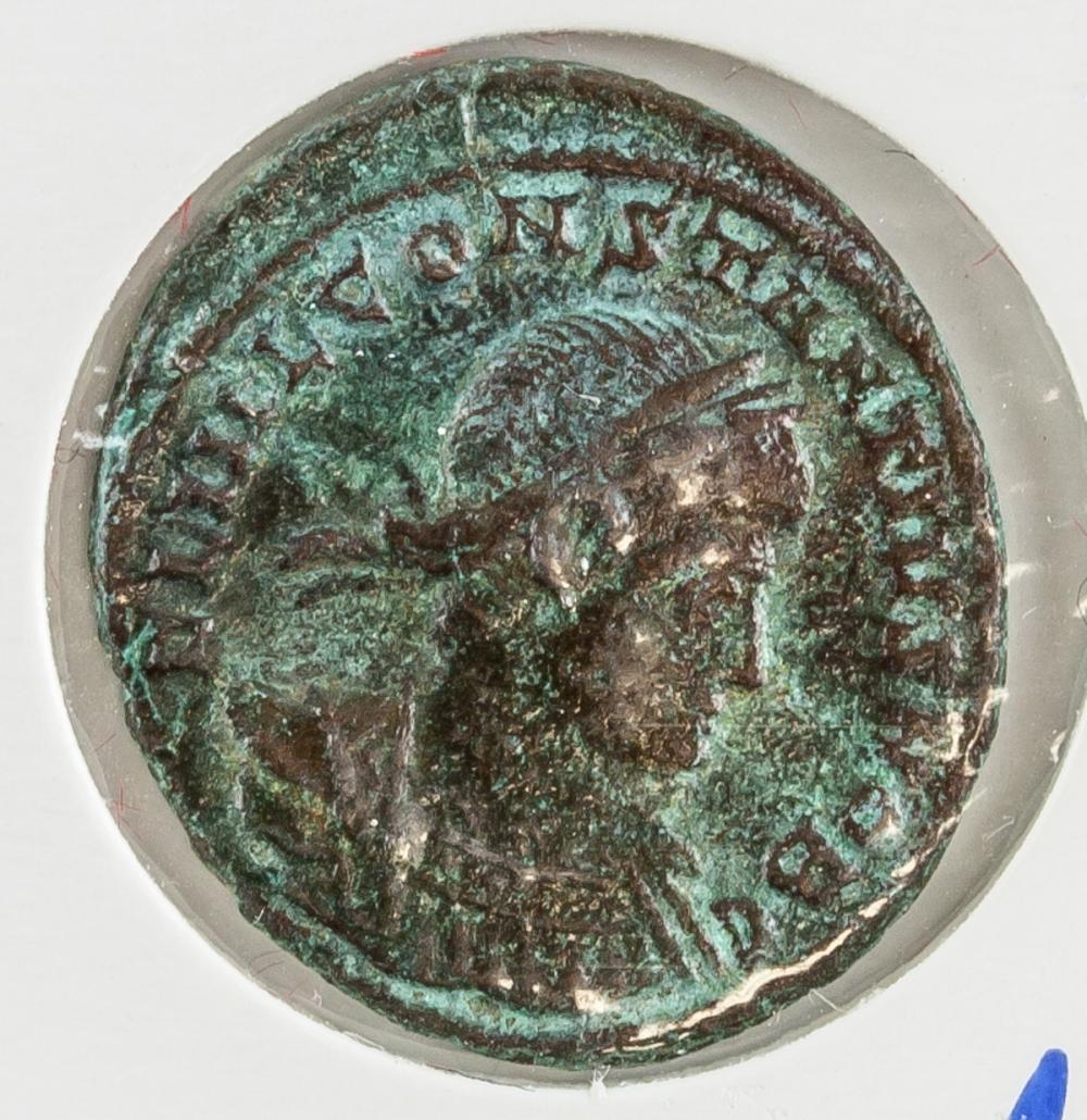 Lot 386: 334 AD Rome Constantius II Siscia Bronze Coin