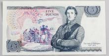 Lot 387: British 5 Pounds Banknote