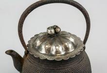 Lot 390: Japanese Iron Cast Teapot