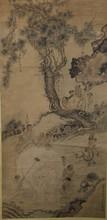 Chinese Lohan & Elephant Painting Signed Wu Bin