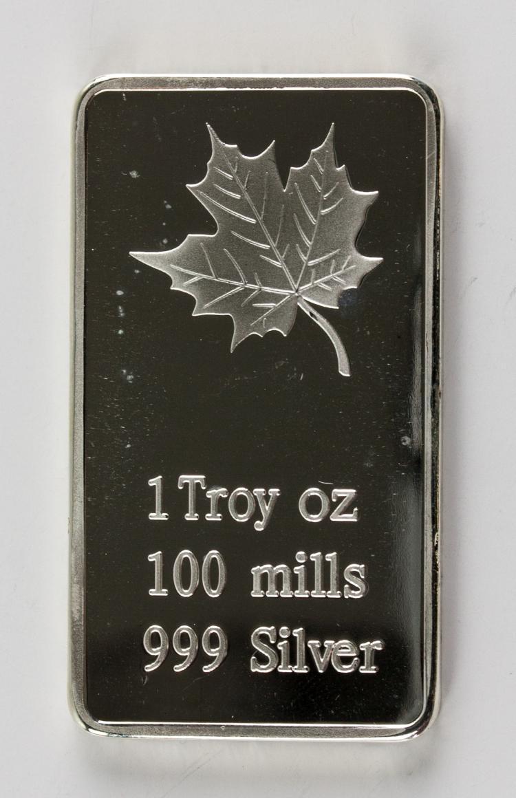 3pc 1 Troy Ounce Fine Silver Bullion Bar Mint
