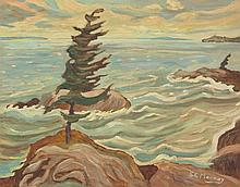 Sidney Charles Mooney B.1927 Canadian Oil on Board