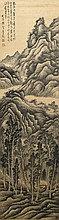 Chinese Painting of Landscape Signed Gong Xian