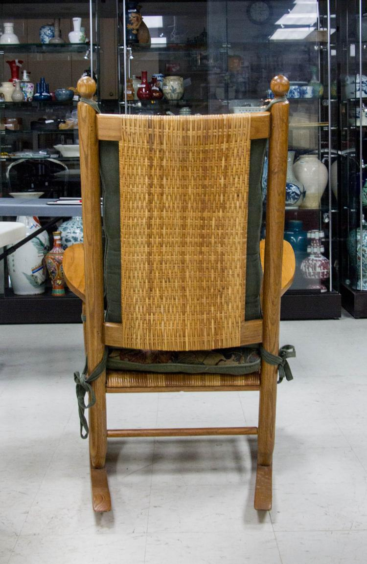 American p p wood rocking chair for Furniture 888