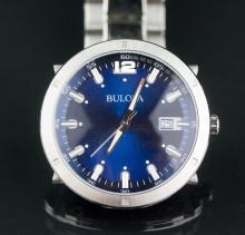 Bulova Men's Stainless Steel Watch RetailValue$300