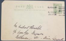 British 1906 Half Penny Postal Stationery Card
