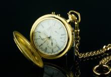 Citizen Intellectus Et Fortitudo Pocket Watch