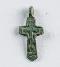 15th Century Russian Orthodox Child Cross Pendant