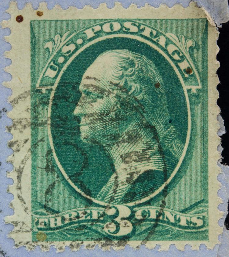United states rare 1873 three cent stamp w envelop for Antique items worth a lot of money