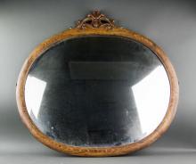 Louie VI Style Oval Mirror