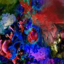 Evolution: Conception of Matter | Original Fine Art