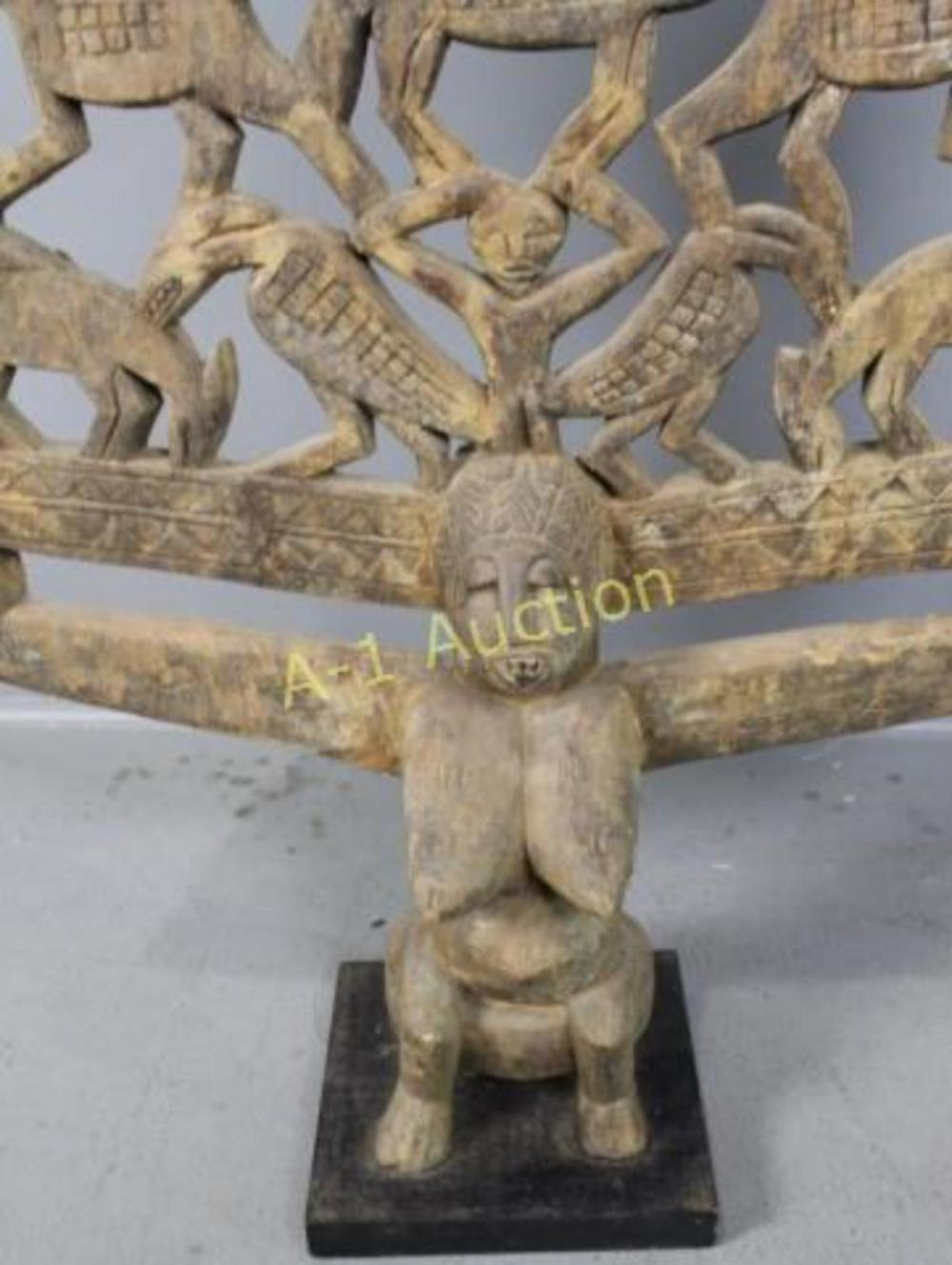an overview of the wooden piece of art female figure dilukai Shop ebay for great deals on collectible african figures & sculptures (1900-now)  summary recently viewed  african wooden giraffe hand carved art piece home.