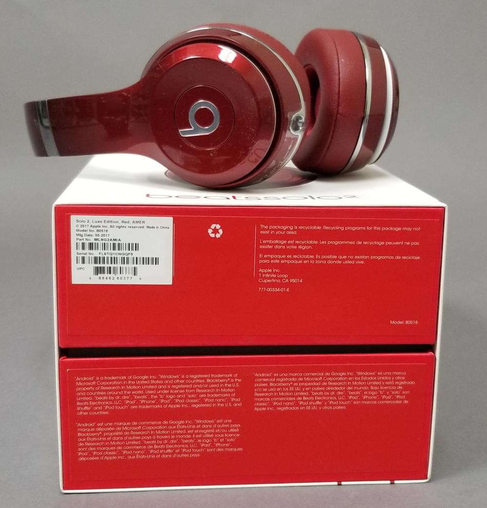 Beats Solo2 By Dr Dre Luxe Edition Wired Headphones New In