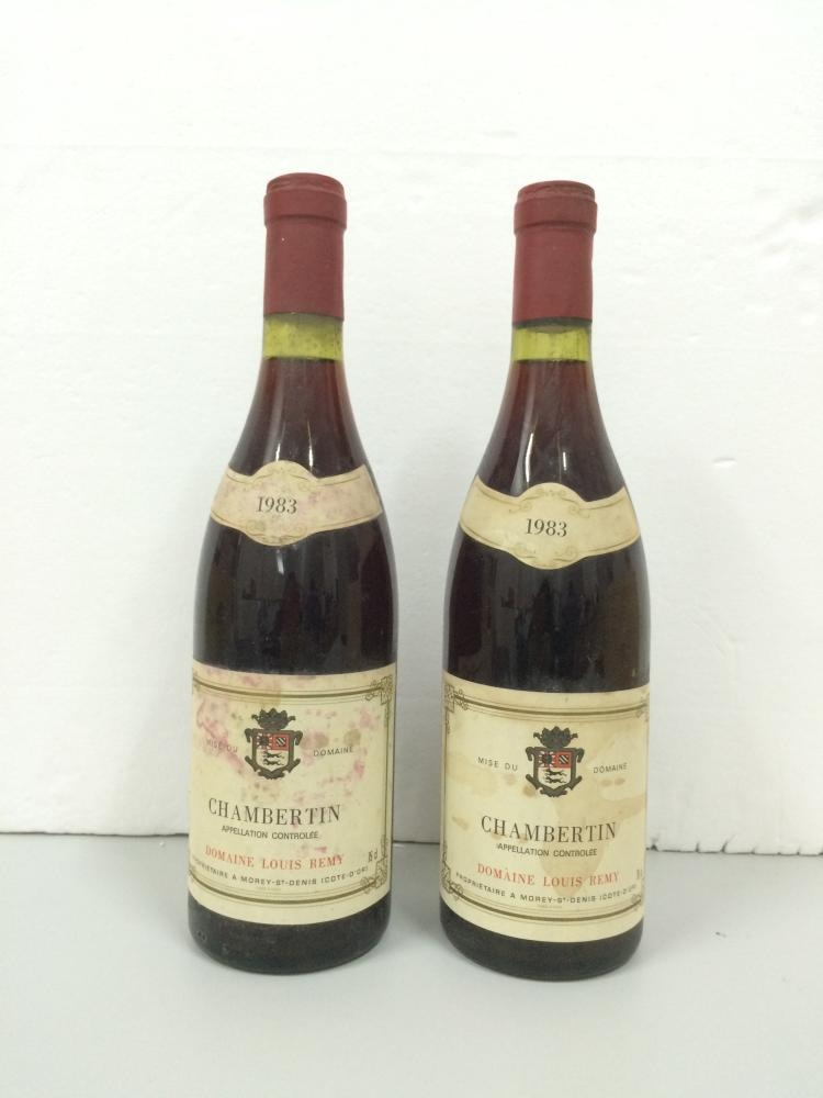 CHAMBERTIN DOMAINE LOUIS REMY 1983