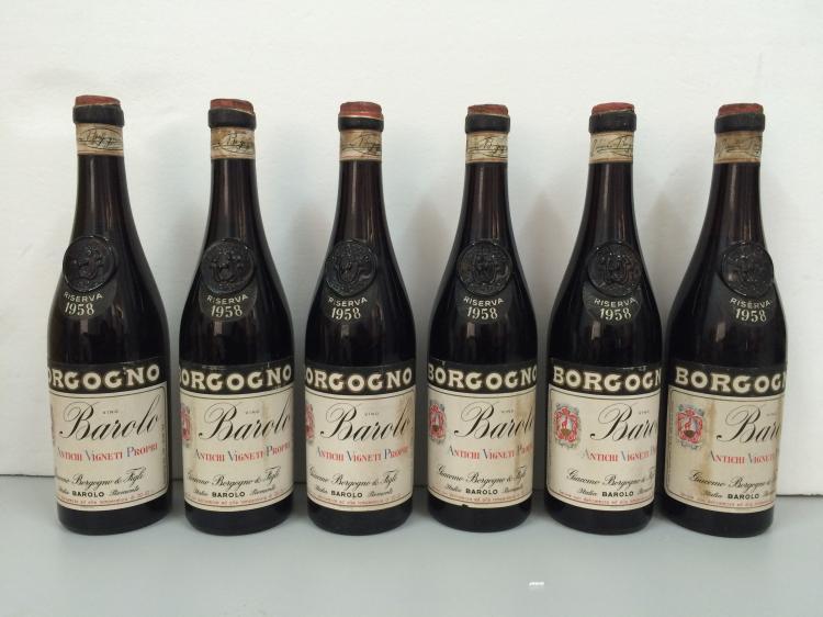 G. BORGOGNO BAROLO RISERVA 1958