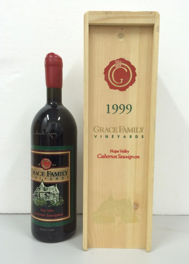 GRACE FAMILY VINEYARD CABERNET SAUVIGNON ESTATE (SPECIAL EDITION)   1999