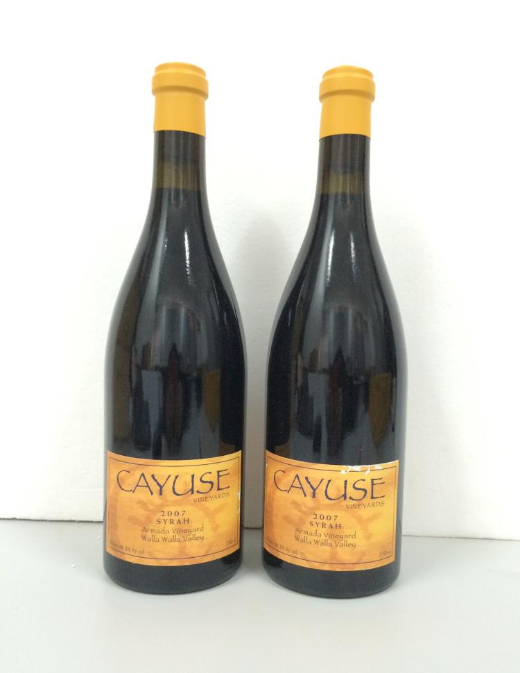CAYUSE VINEYARDS SYRAH ARMADA VINEYAD   2007