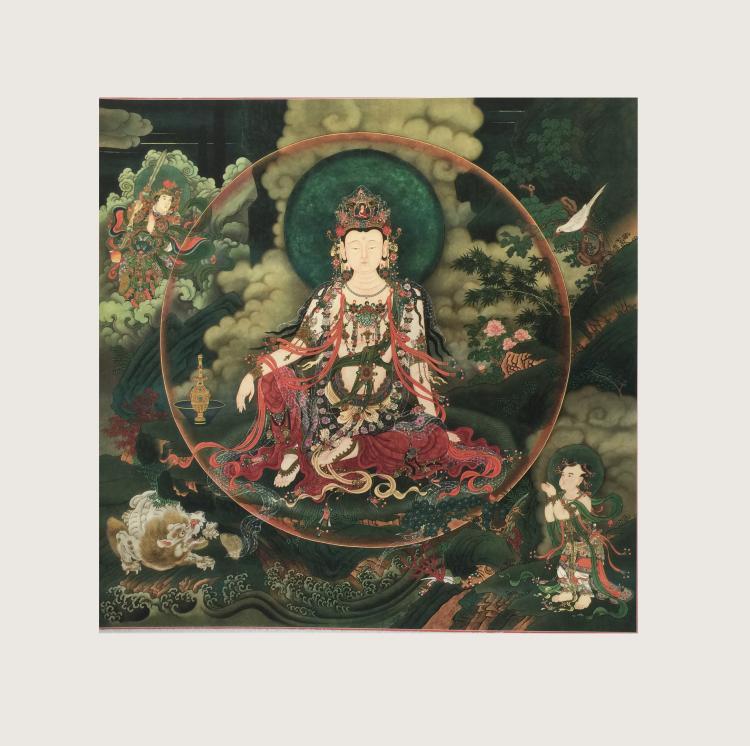 Chinese Muarl Painting